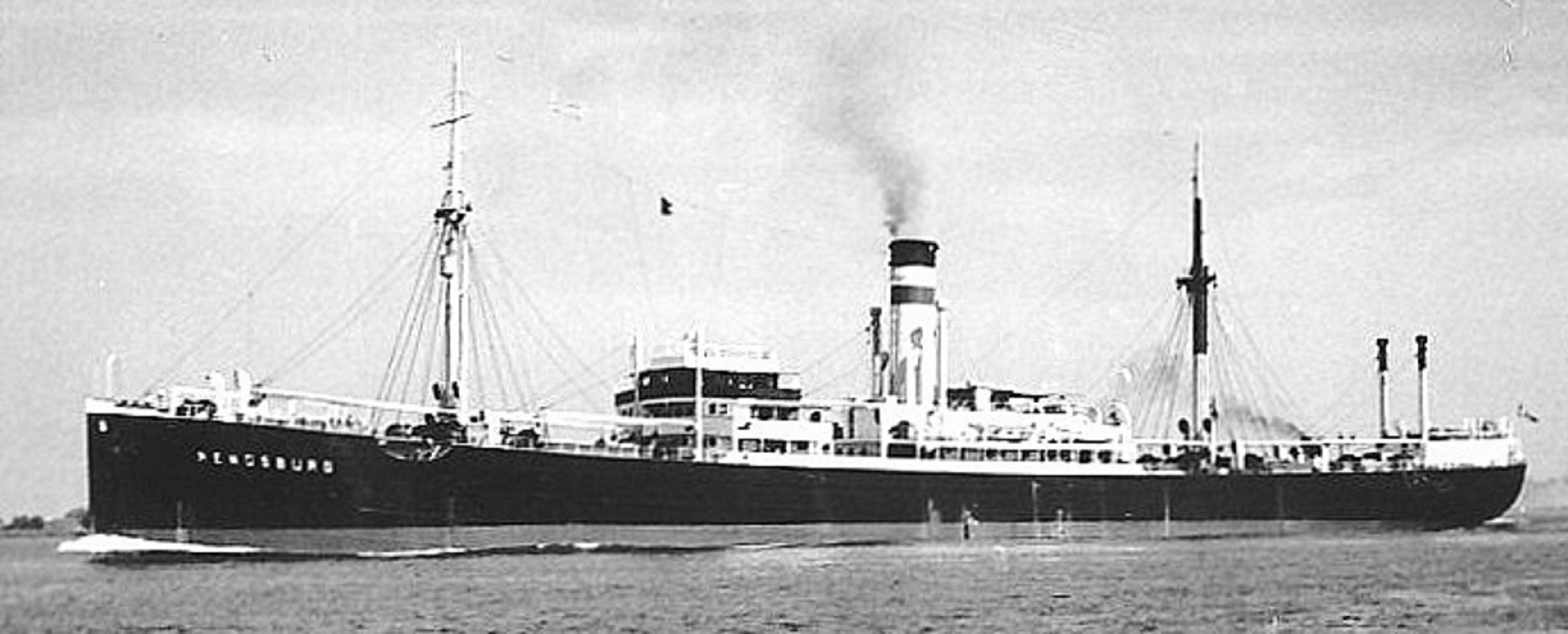 Transpacific Steamship Rendsburg/Tango Maru Circa 1926