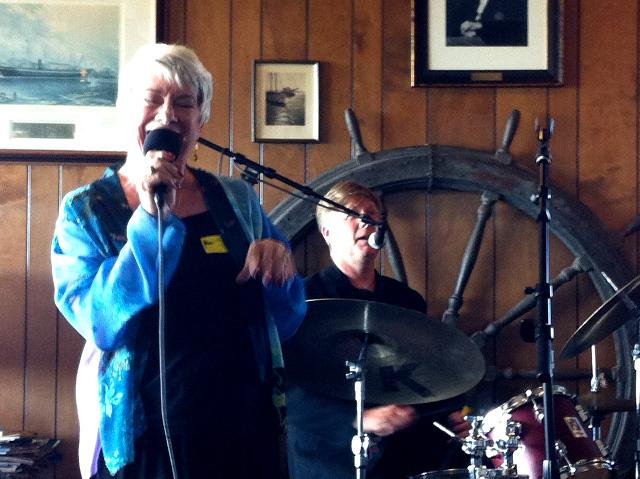Singing at the Berkely Yacht Club
