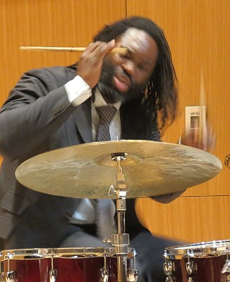 Dana Hall with Terrell Stafford Quintet, Michigan State University, October 30, 2012
