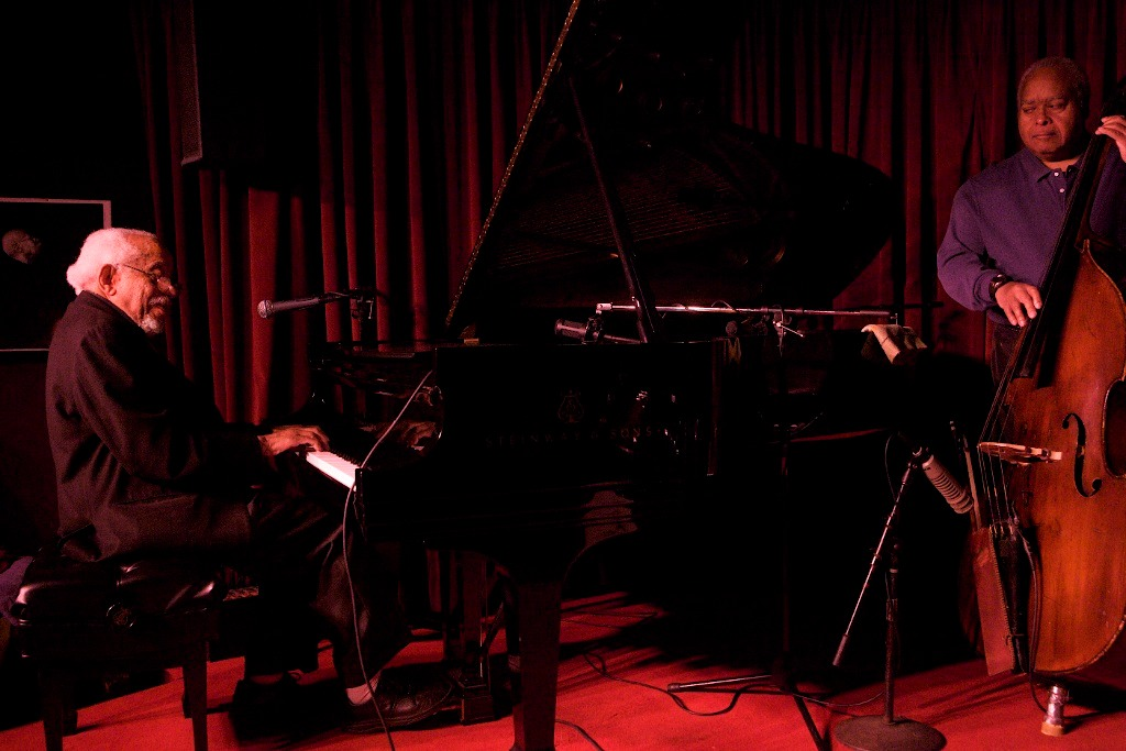 Barry Harris and Ray Drummond at the Village Vanguard, 1/25/12