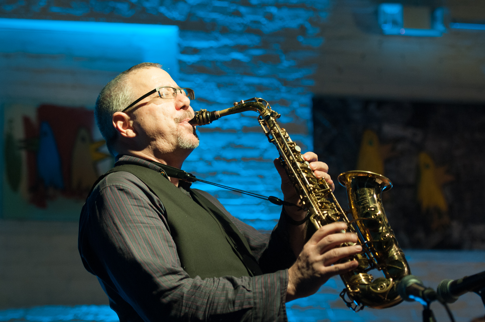 Marty Ehrlich with Rites Quartet at Shapeshifter Lab