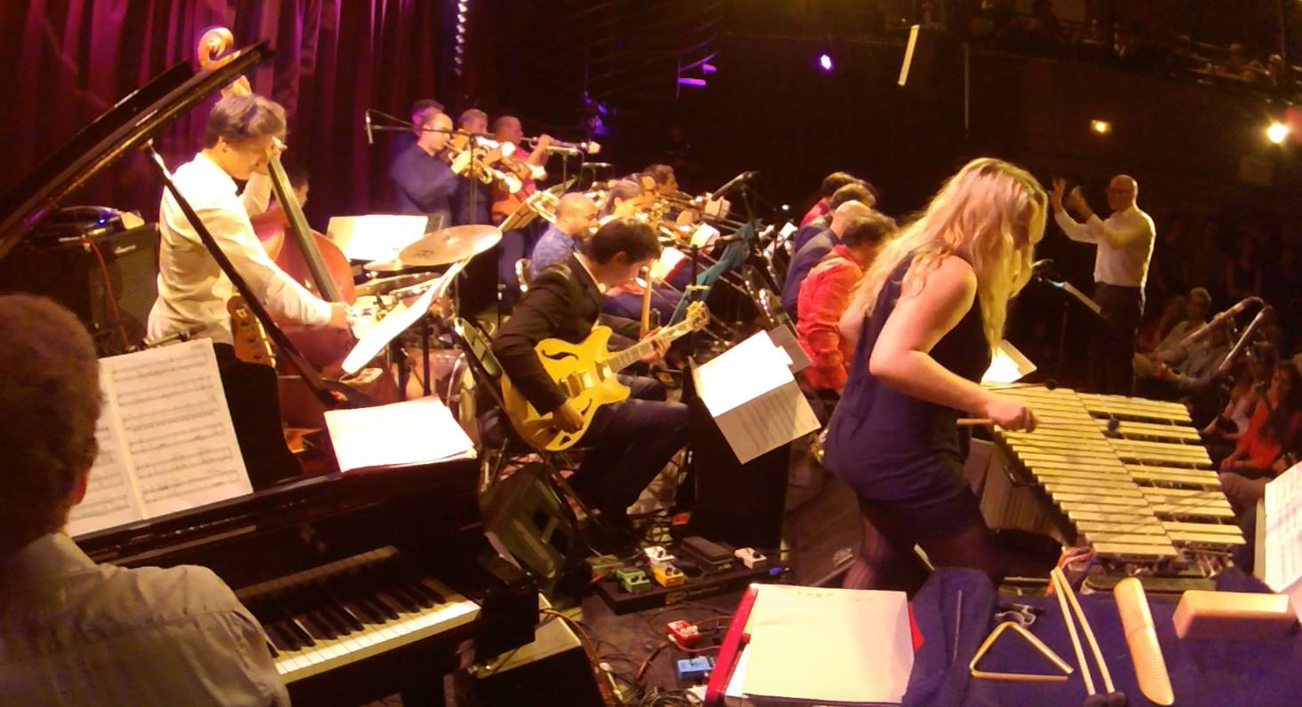 Paris College of Music Bigband at the Ermitage