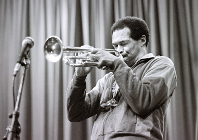 Woody Shaw 0322719 Shaw Theatre, London. March 1985 Images of Jazz