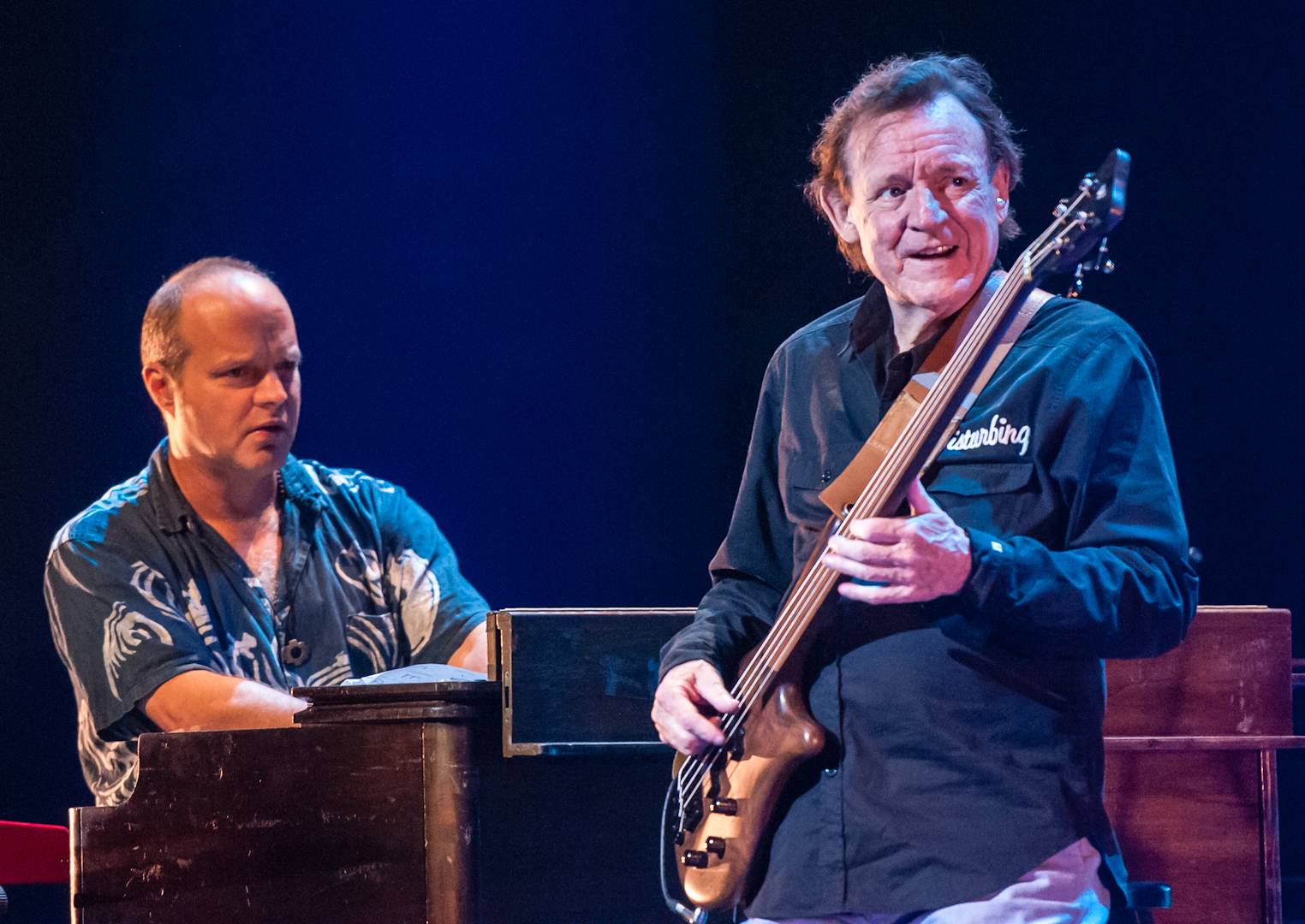 John Medeski and Jack Bruce with Spectrum Road at the Montreal International Jazz Festival 2012