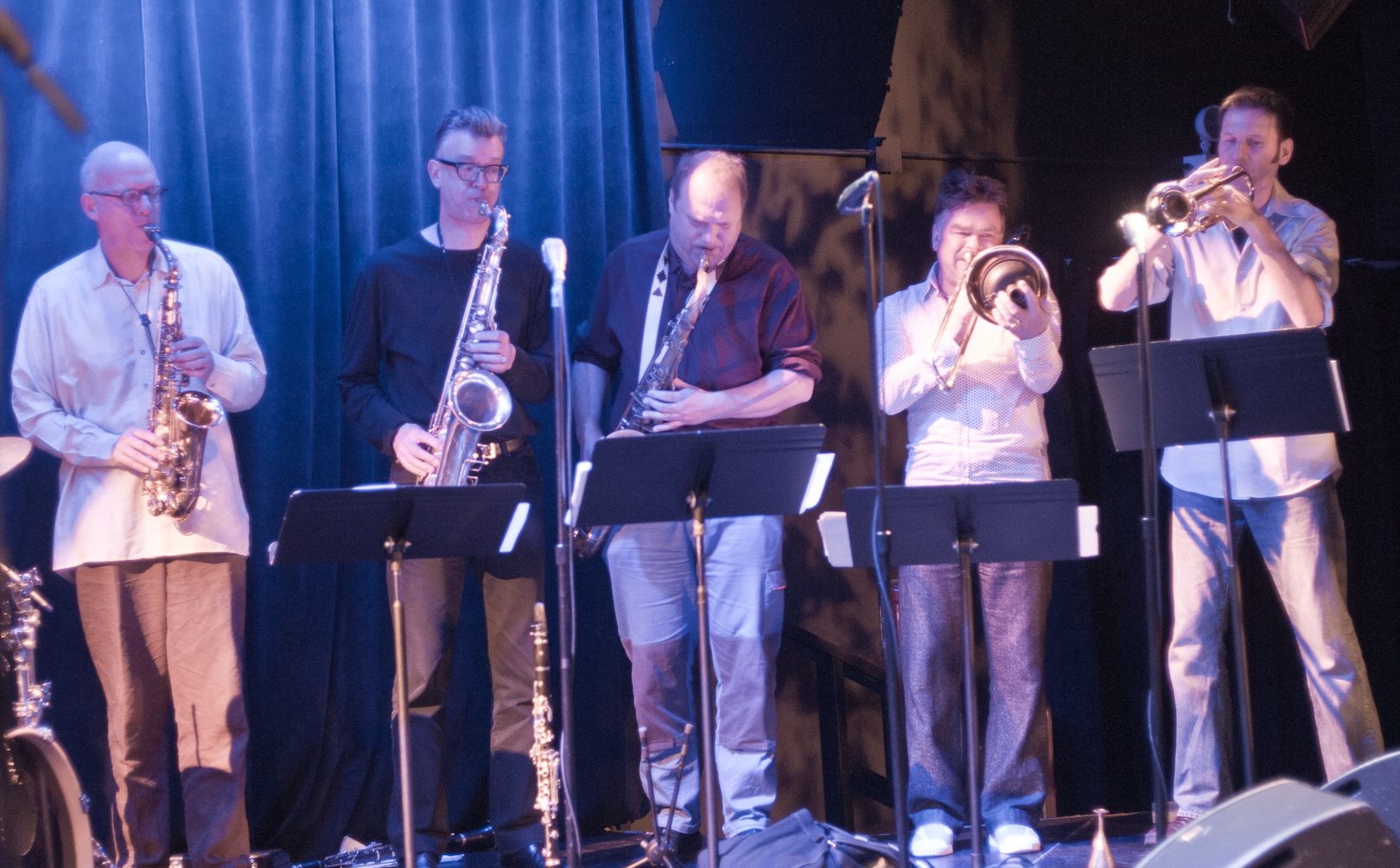 ICP Orchestra Horns with Moore, Baars, Delius, Wierbos and Heberer