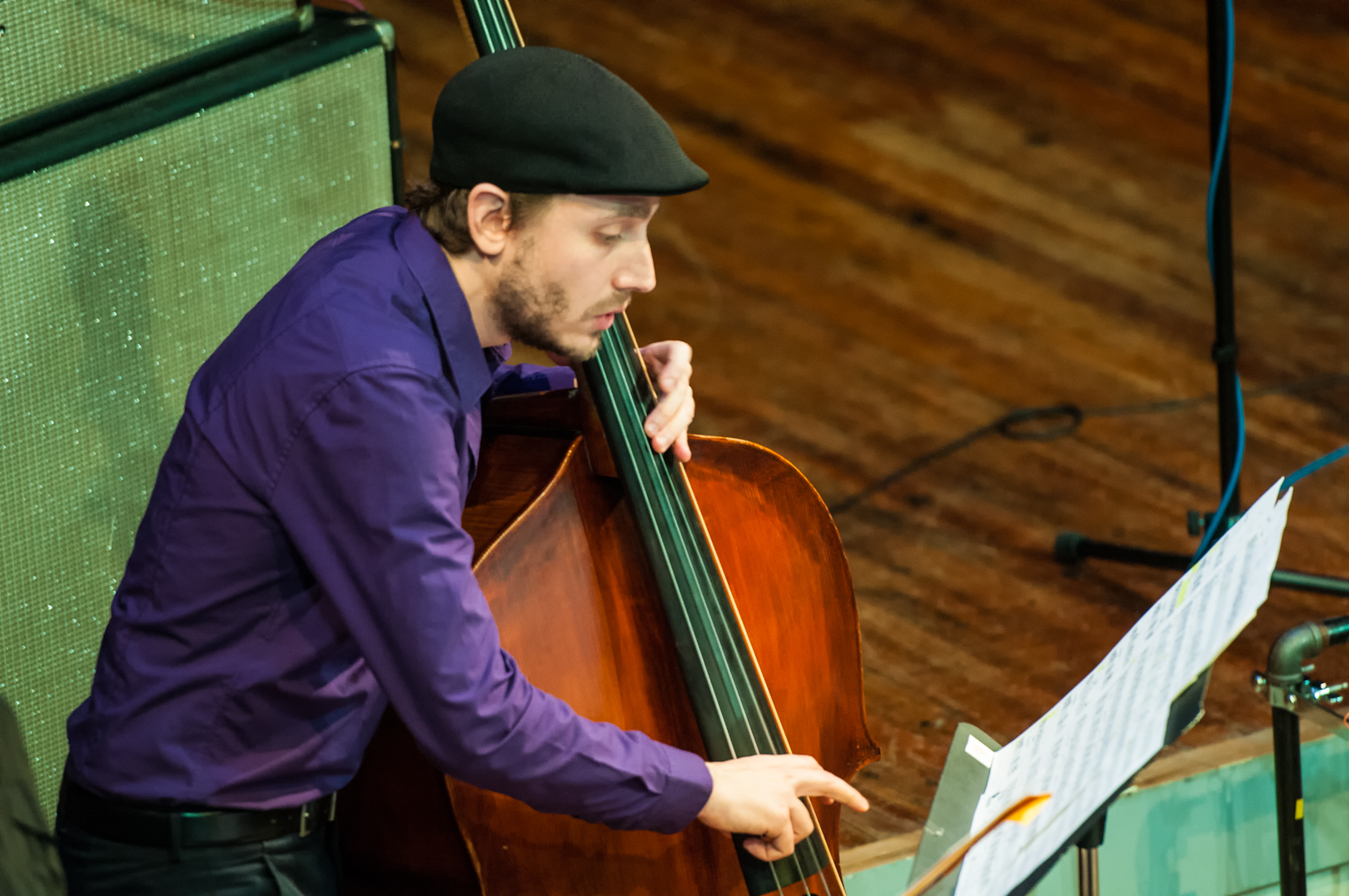Zachary Lober With Henry Threadgill And Zooid At Roulette