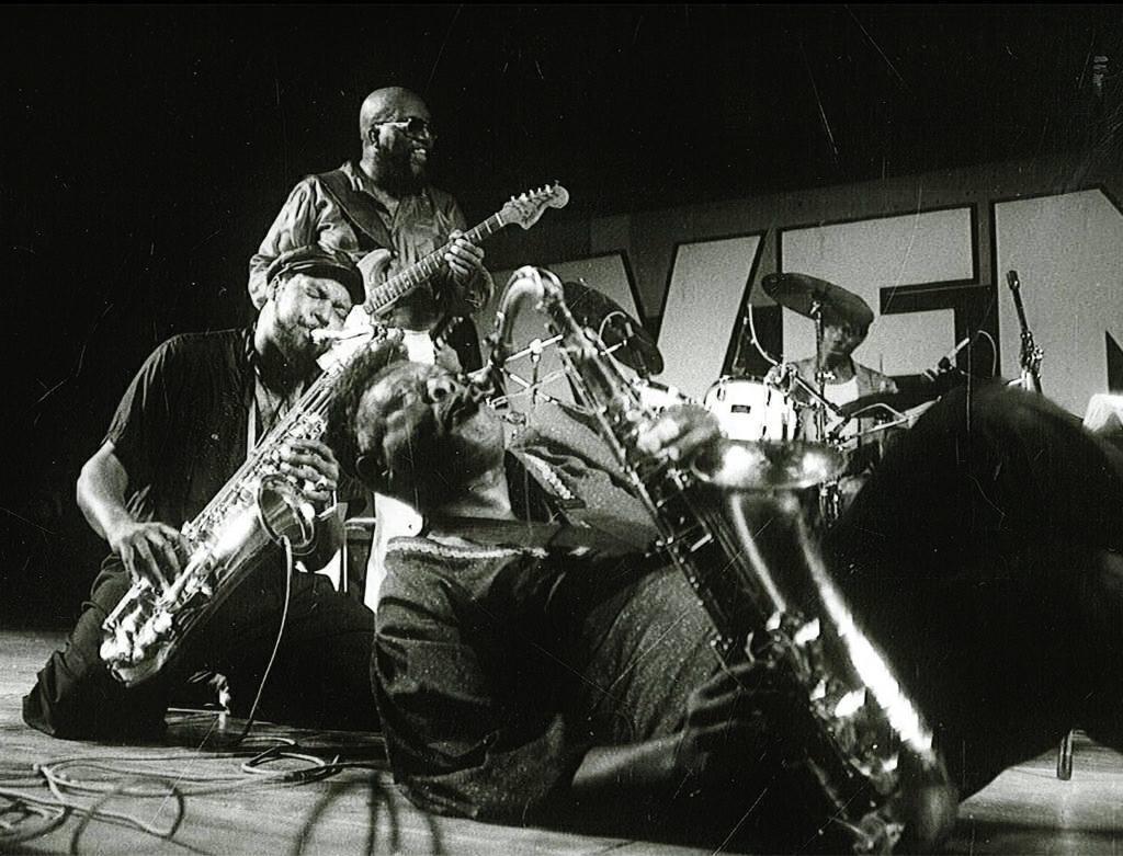 Big Jay McNeely, Detroit Gary Wiggins & Johnny Heartsman