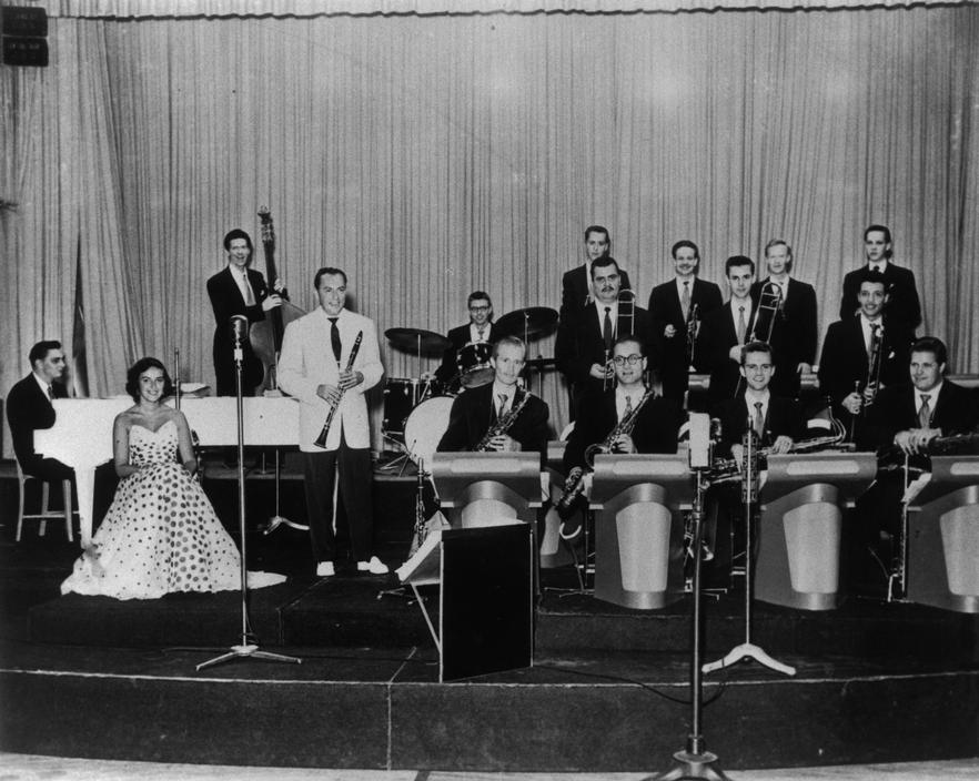 With woody herman 1951