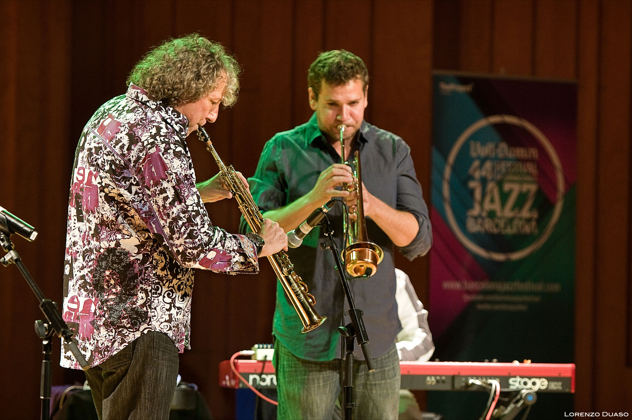 Bob Belden & Animation at the Barcelona Jazz Festival