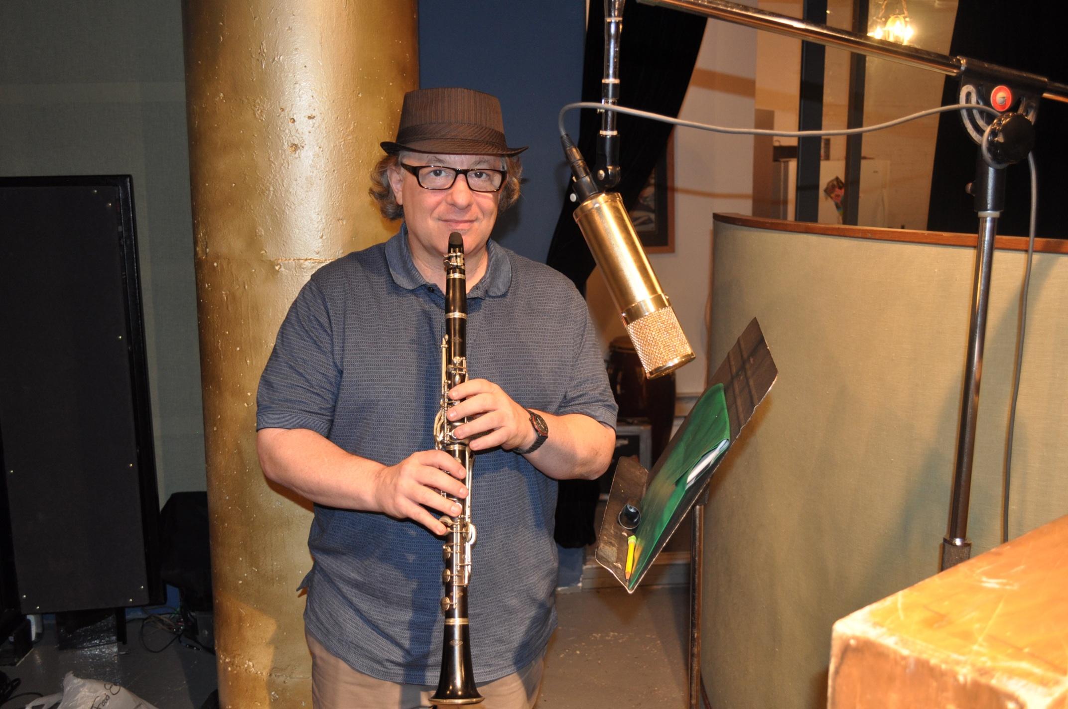 Michael Marcus in Studio