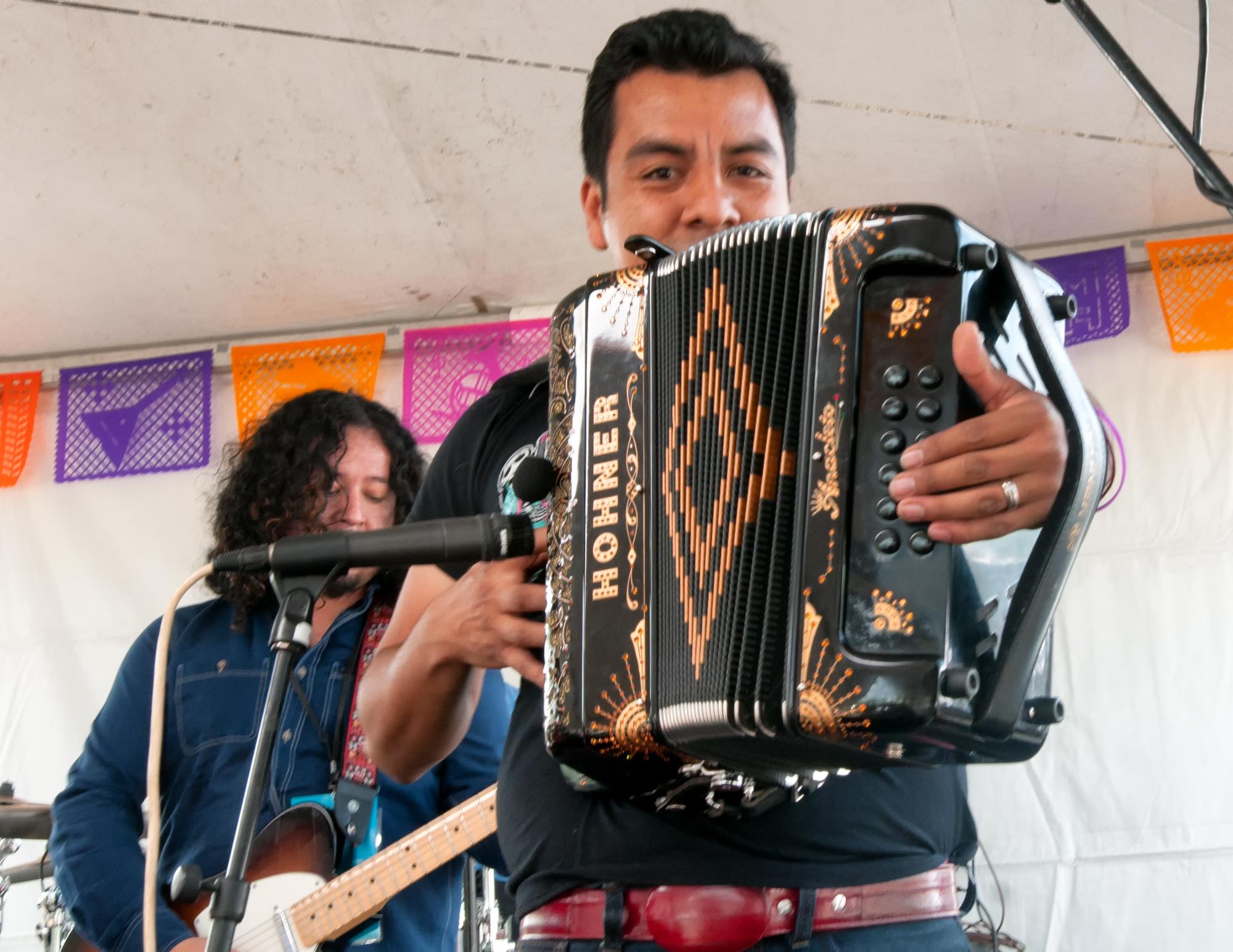 Jose Pepe Carlos With La Santa Cecilia At The Mim Global Music Festival