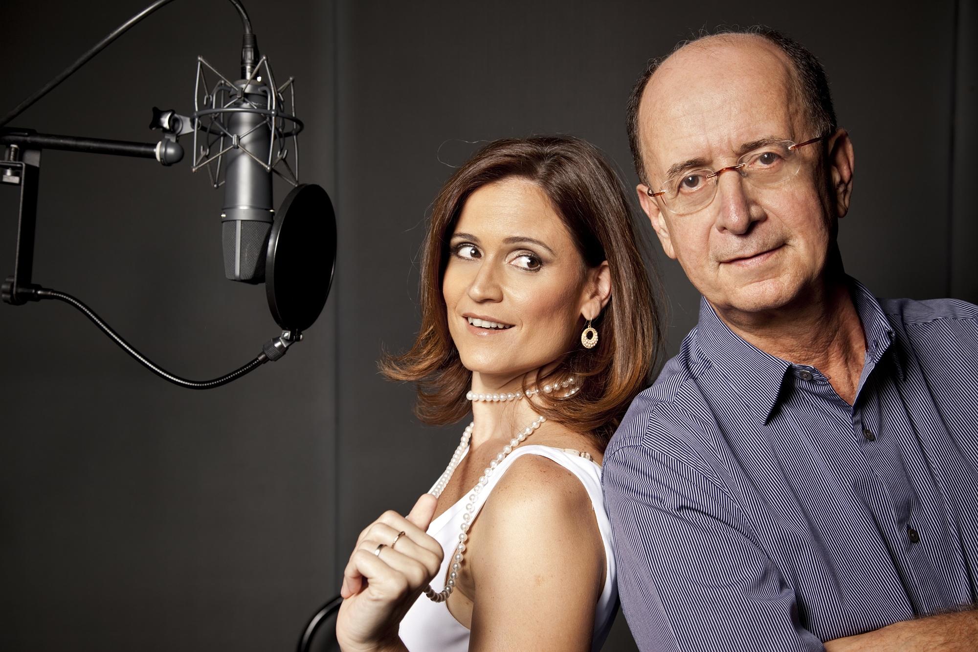 Carol Saboya and Antonio Adolfo