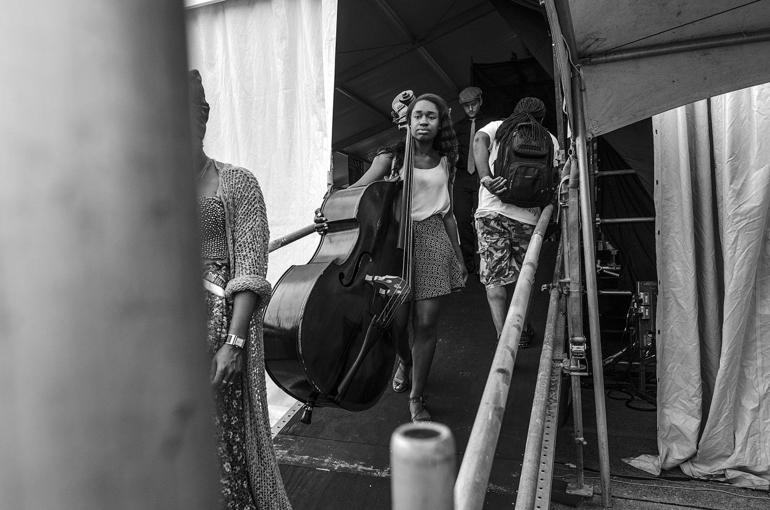 Amina Scott at Jazz Fest