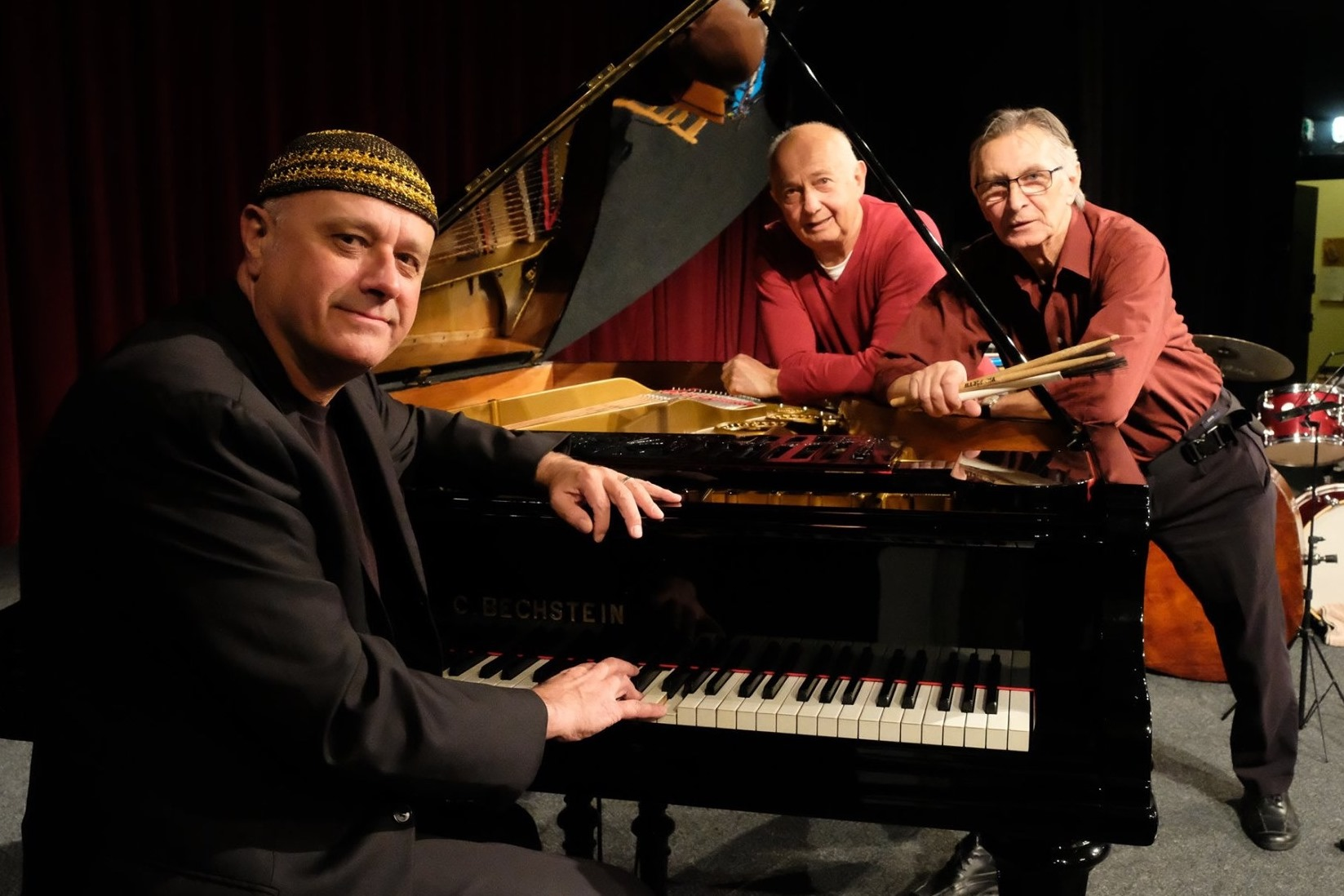 Roberto Magris with the MUH Trio, with Frantisek Uhlir and Jaromir Helesic