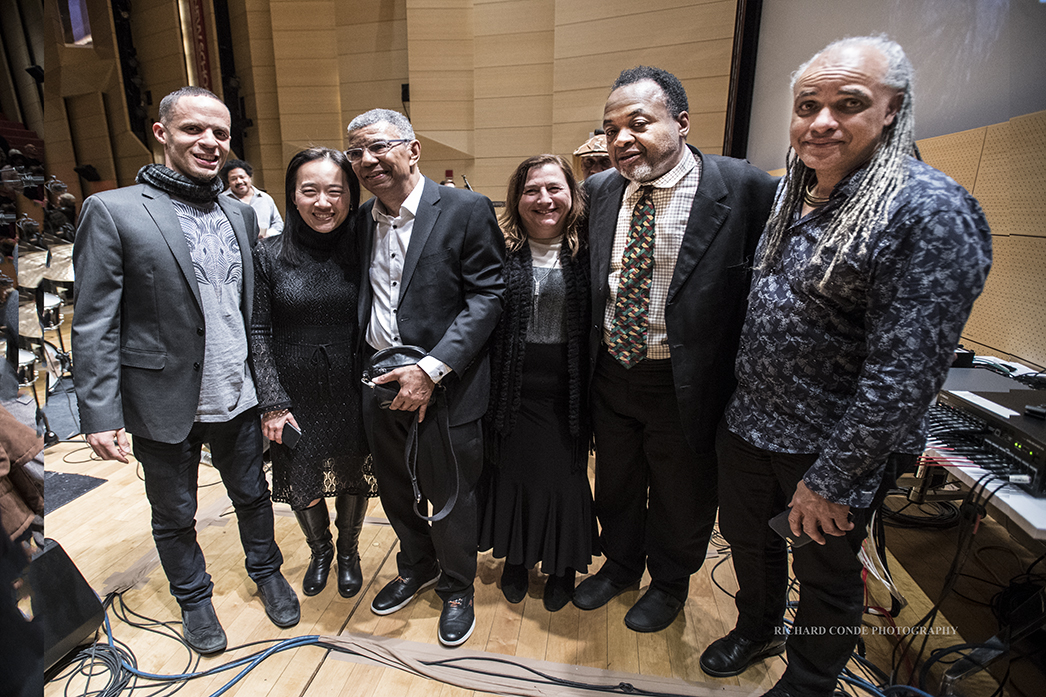 Backstage at the 2018 Winter Jazz Festival