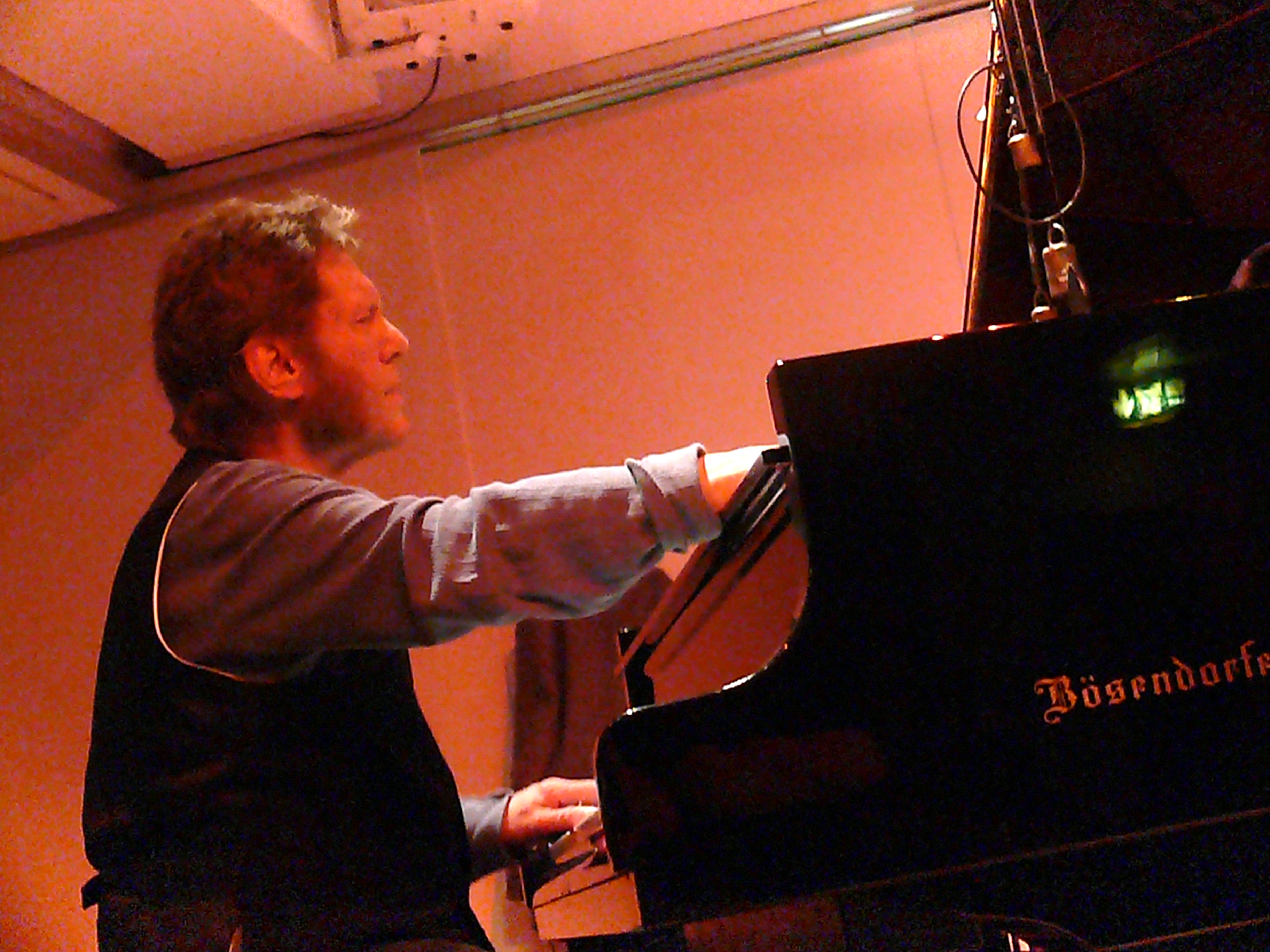Keith Tippett at Leicester Arts Centre in October 2010