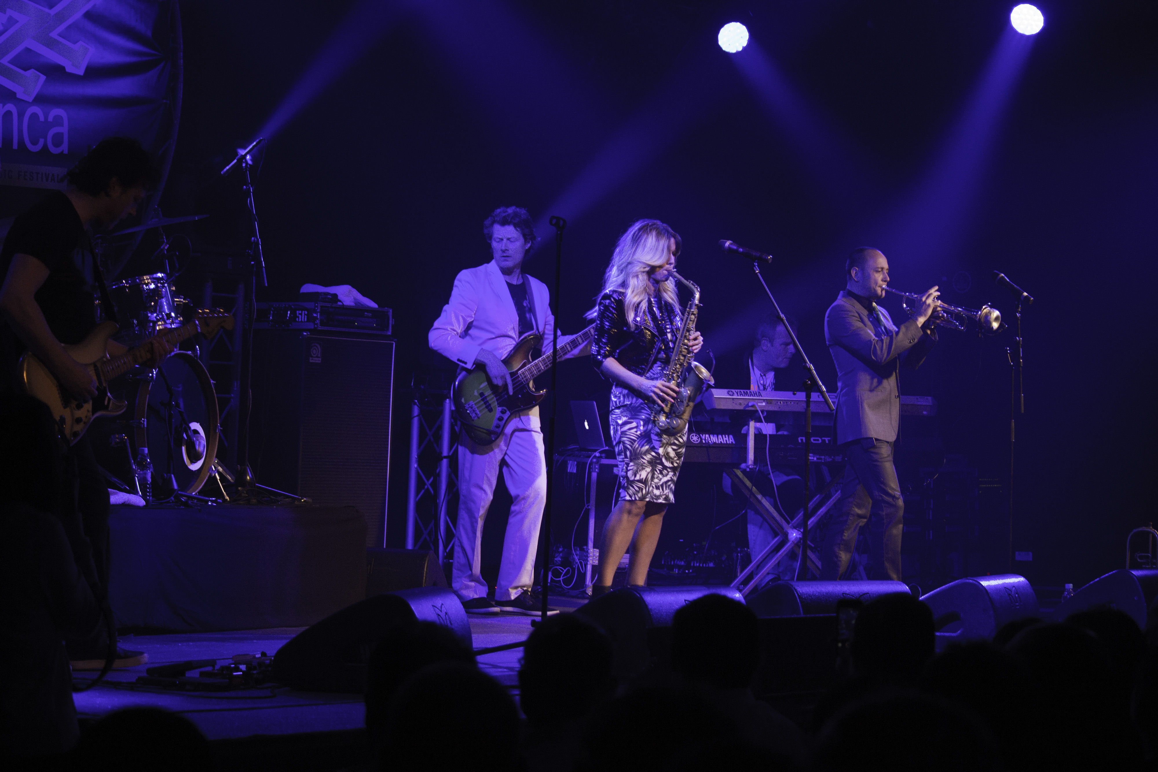 Candy Dulfer at Jazzablanca 2015