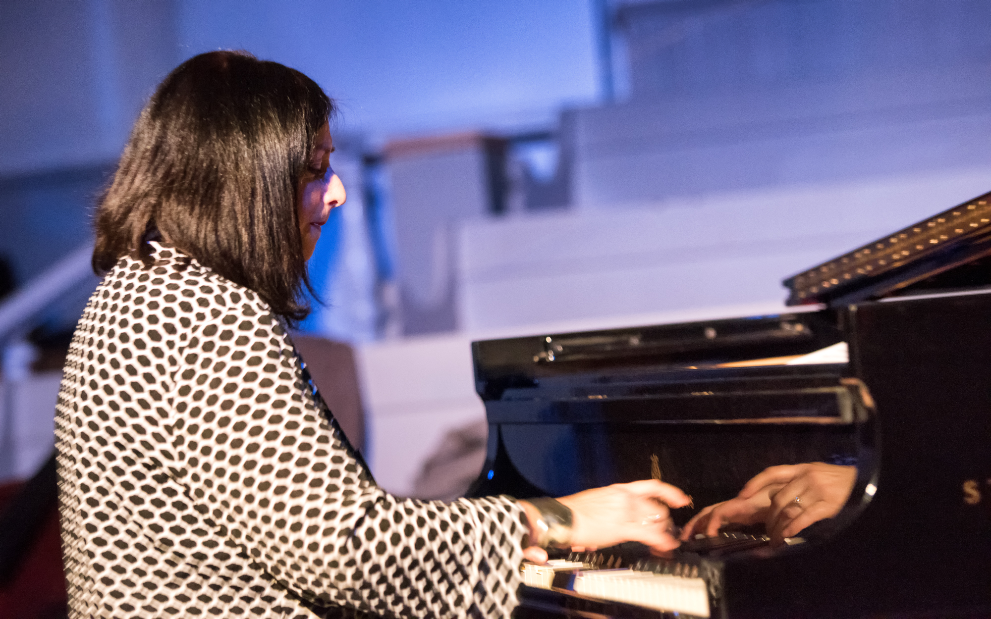 Renee Rosnes at Jazz Legends Play for Disability Pride at Nyc Winter Jazzfest 2015