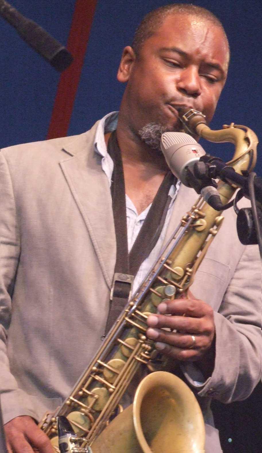 Denys Baptiste Leading His Quartet at 2009 Ealing Jazz Festival