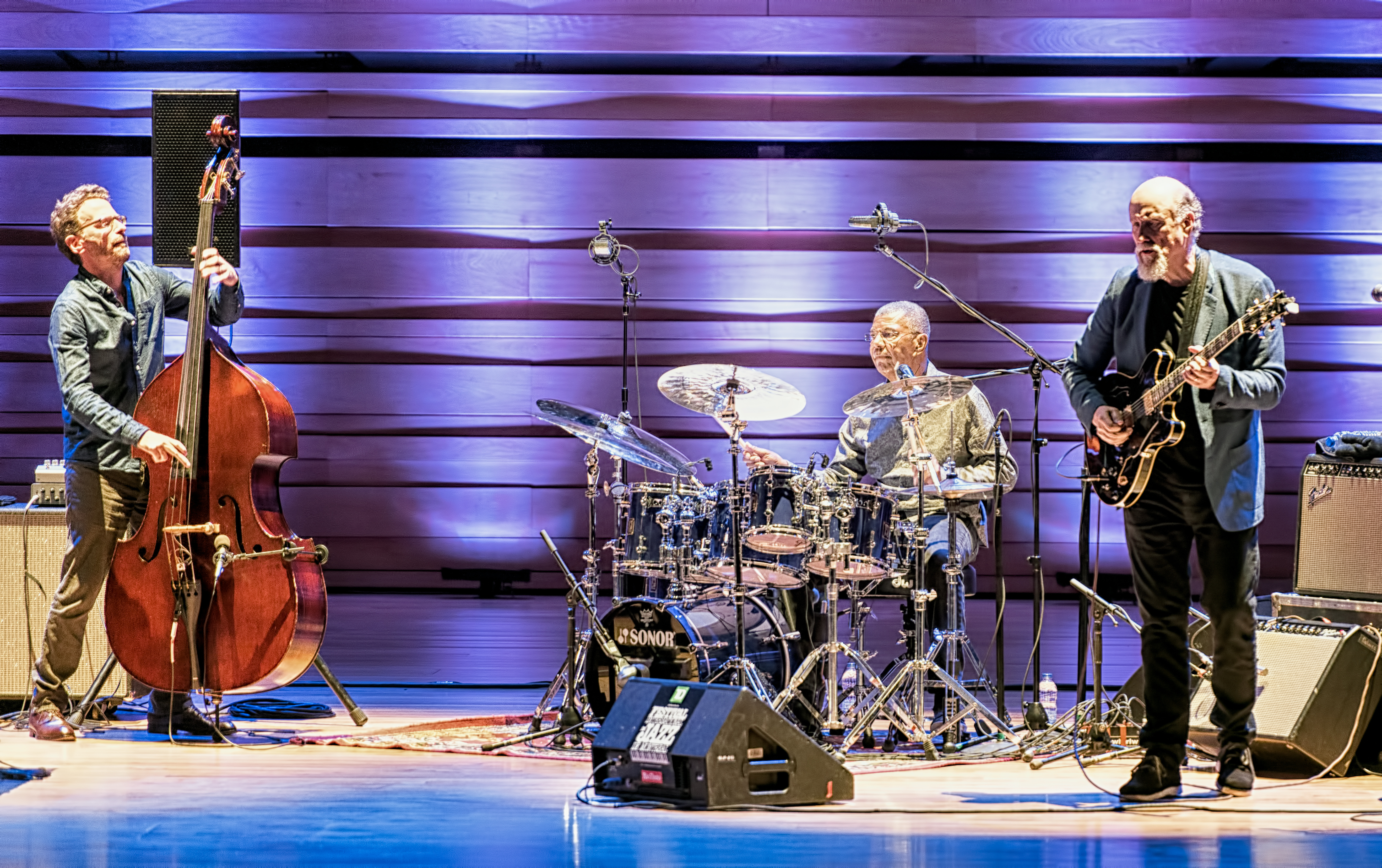 Larry Grenadier, Jack DeJohnette and John Scofield with Hudson at The Montreal International Jazz Festival 2017