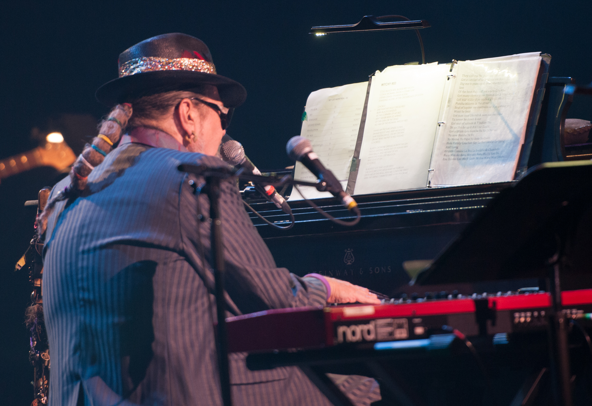 Dr. john with the nite trippers at the montreal international jazz festival 2013