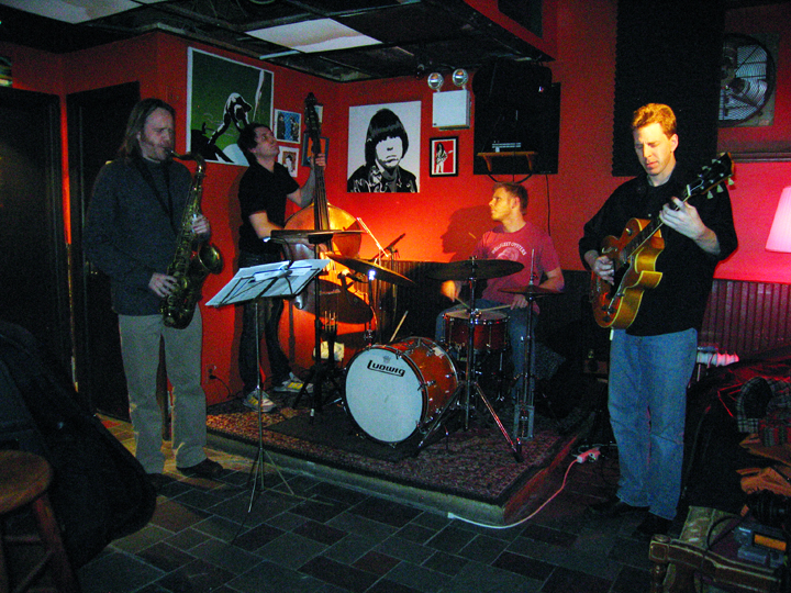 Dave Allen Quartet with Ted Poor, Matt Clohesy and (?) - Bar 4 2007