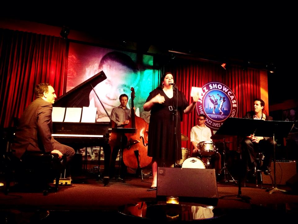 Abigail riccards cd release party at jazz showcase