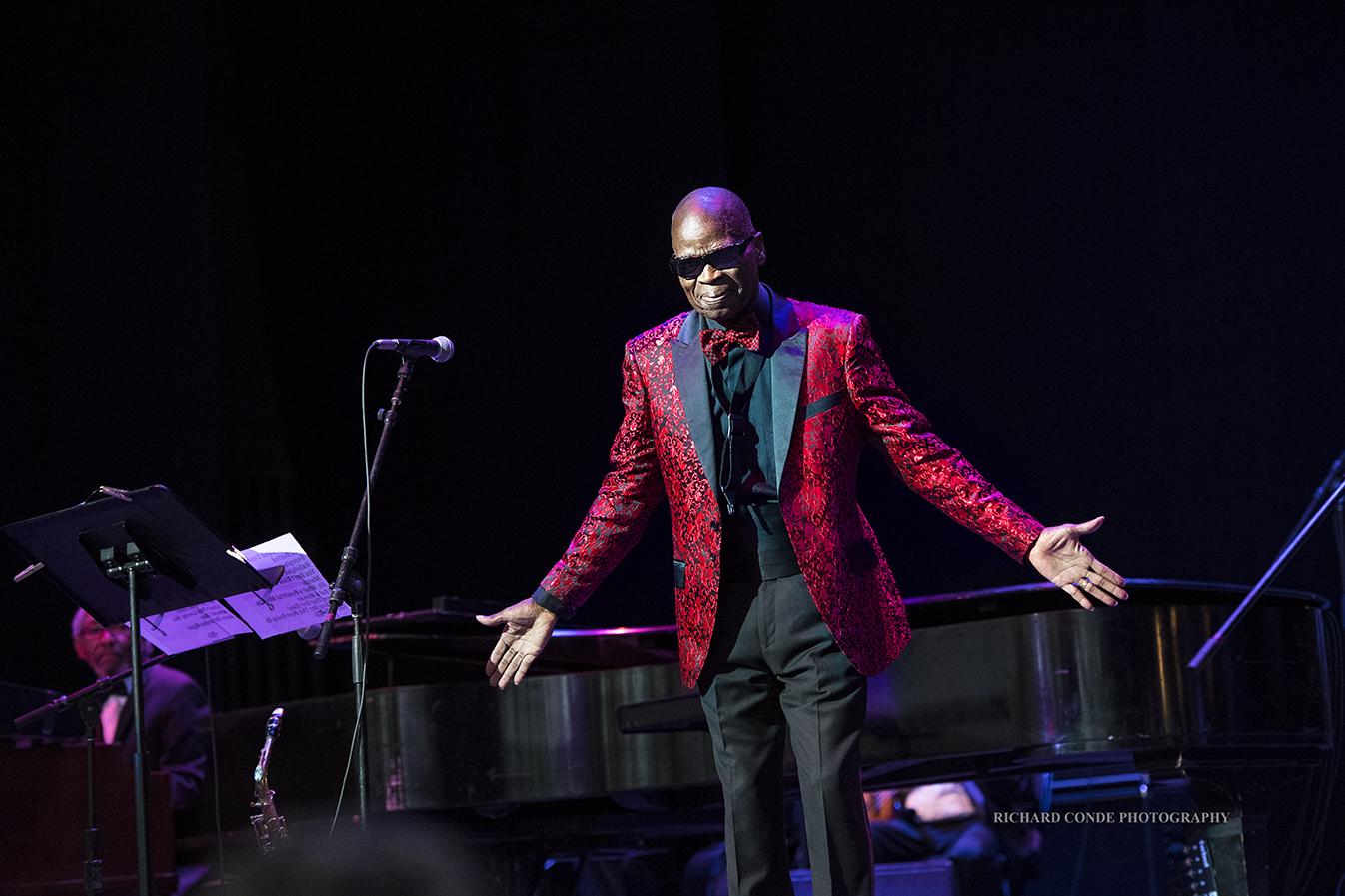 Maseo Parker at the Freihofer Saratoga Jazz Festival 2017