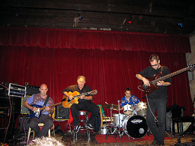 Henry Kaiser Quartet with Dom Minasi, Jonas Hellborg and Lukas Ligetti - Tonic 2004