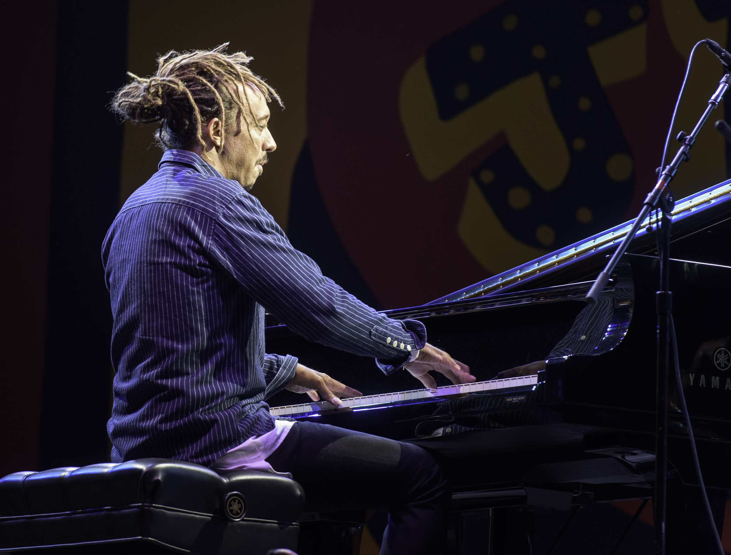 Gerald Clayton with A Tribute to Sonny Rollins at the Monterey Jazz Festival