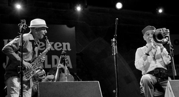 TK Blue & Benny Powell / San Sebastian Jazzaldia 2009