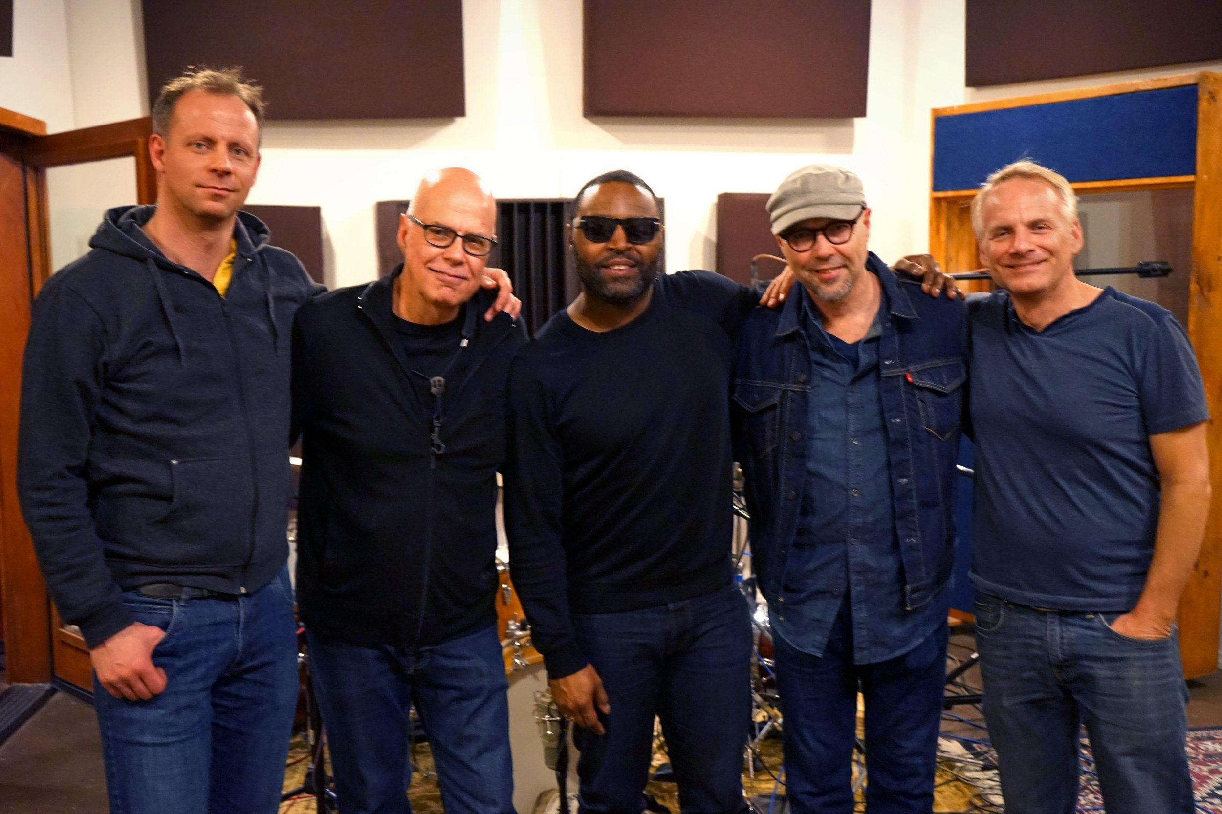 L-R: Jasper Somsen, Bob Sheppard, Kendrick Scott, John Beasley, Talley Sherwood