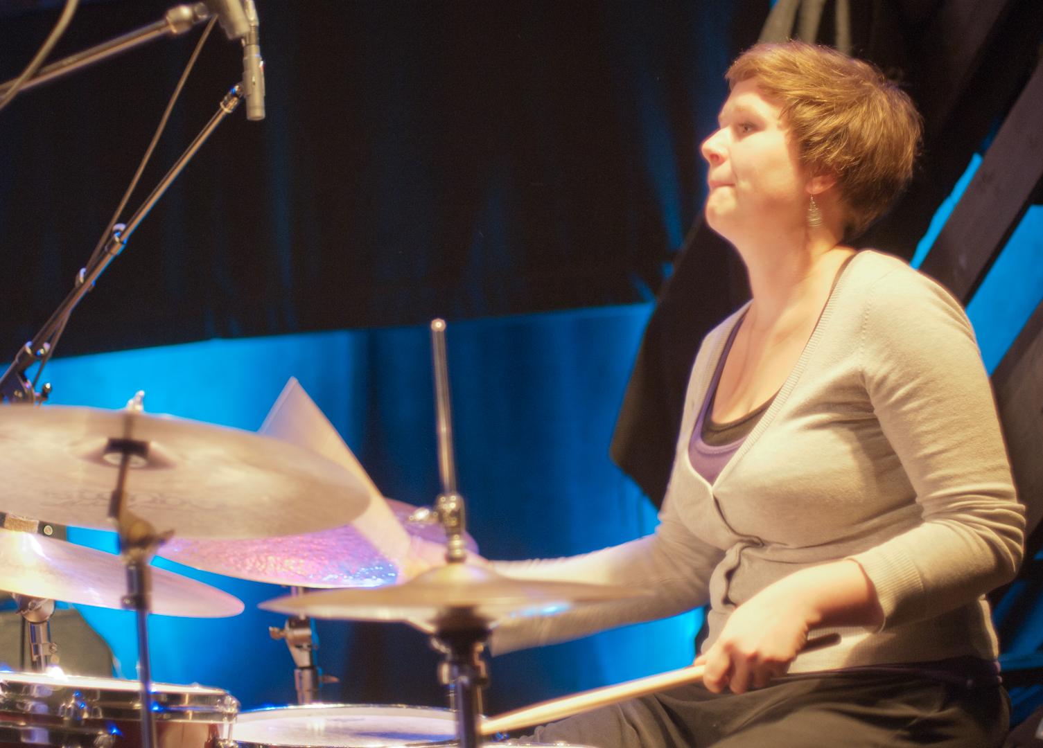 Katarina Lattke at the Oslo Jazz Festival Jam Sessions