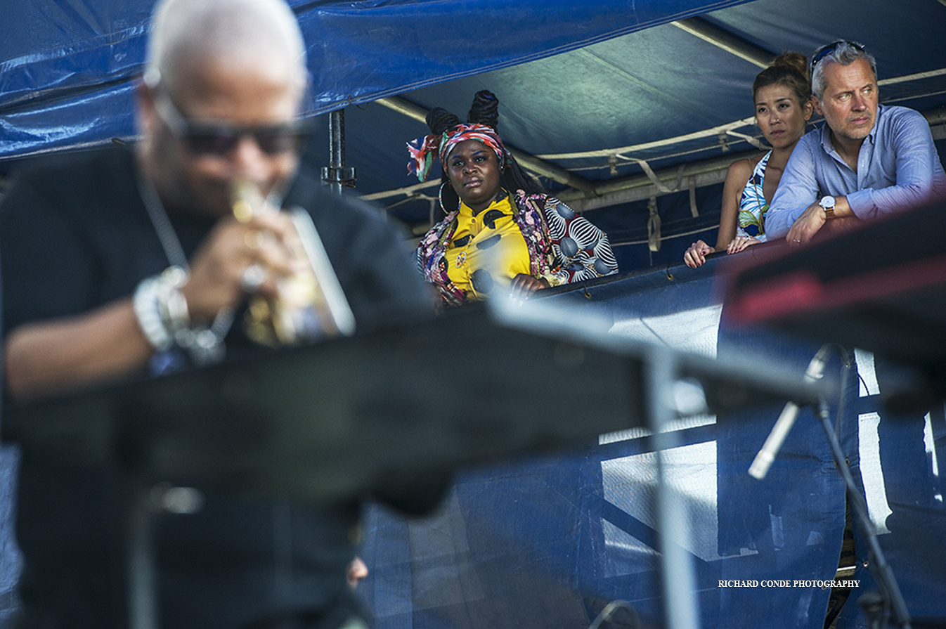 Terence Blanchard and the Bangas at the 2019 Newport Jazz Festival