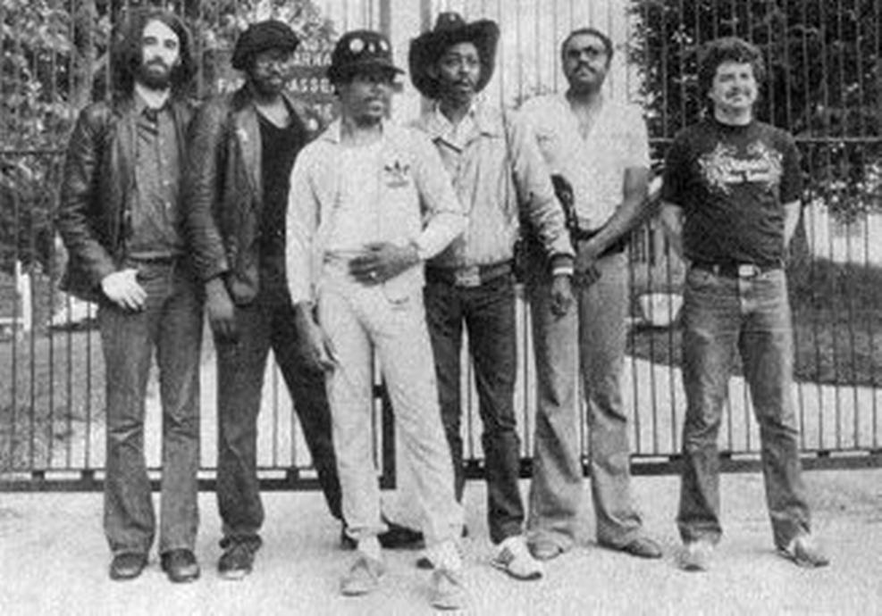 1983 European Tour with Jimmie Smith, Kerman Frazier, Detroit Gary Wiggins, Lefty DIZZ, Chris Rannenberg and Nick Charles