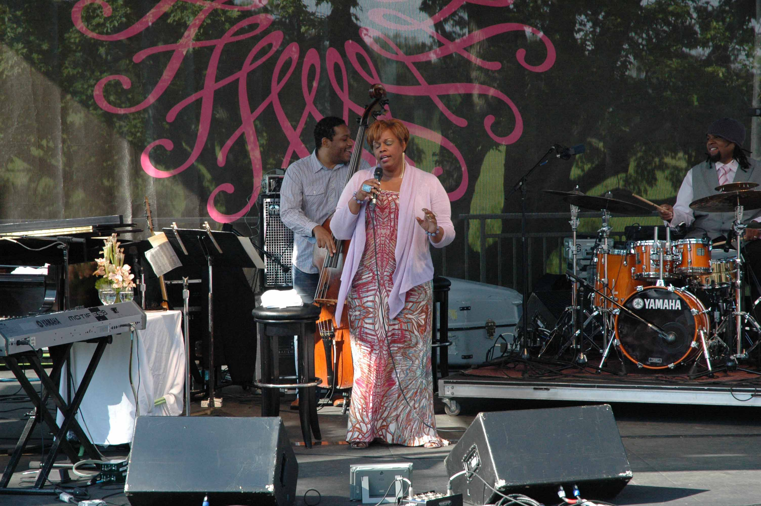Dianne Reeves at Longwood Gardens