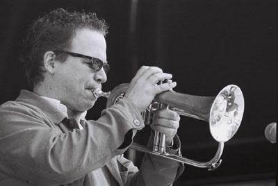 Brad Turner: (Sharon Minemoto Quintet), Saturday, June 21, 2003, Gastown.