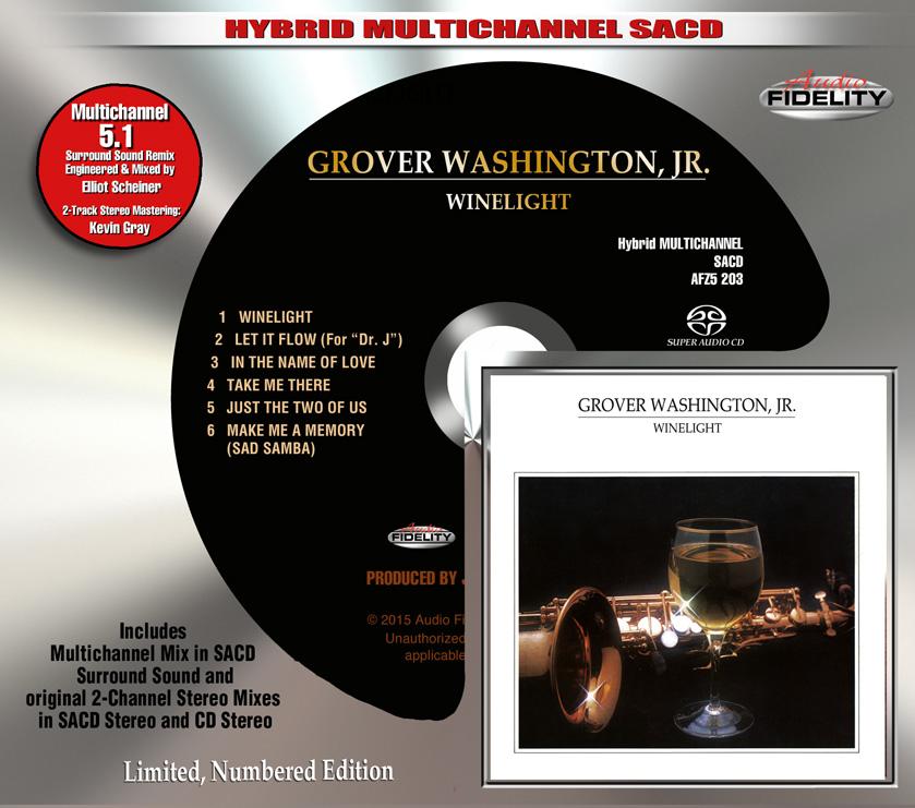 Grover Washington, Jr. Winelight Sacd