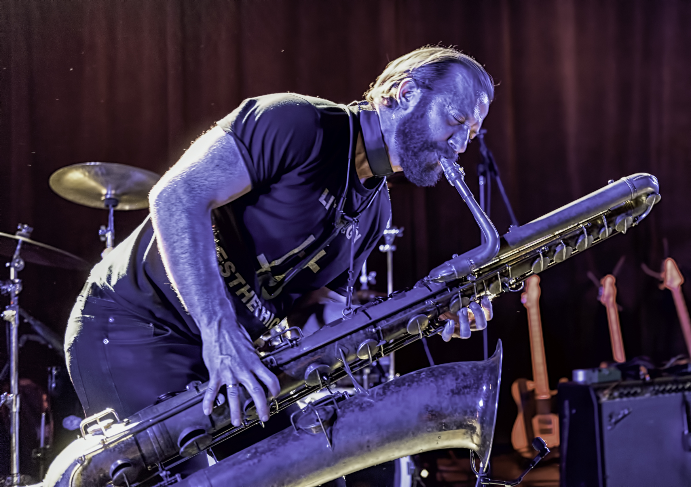 Colin Stetson with Bill Laswell At The NYC Winter Jazzfest 2016