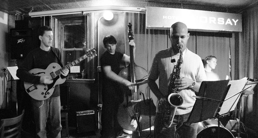 Dave Allen Quartet with Ted Poor, Matt Clohesy and Marc Mommaas - Barbs 2005