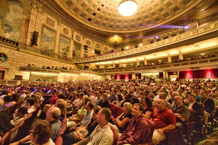 Eastman Theatre Sold out Crowd for Chris Botti