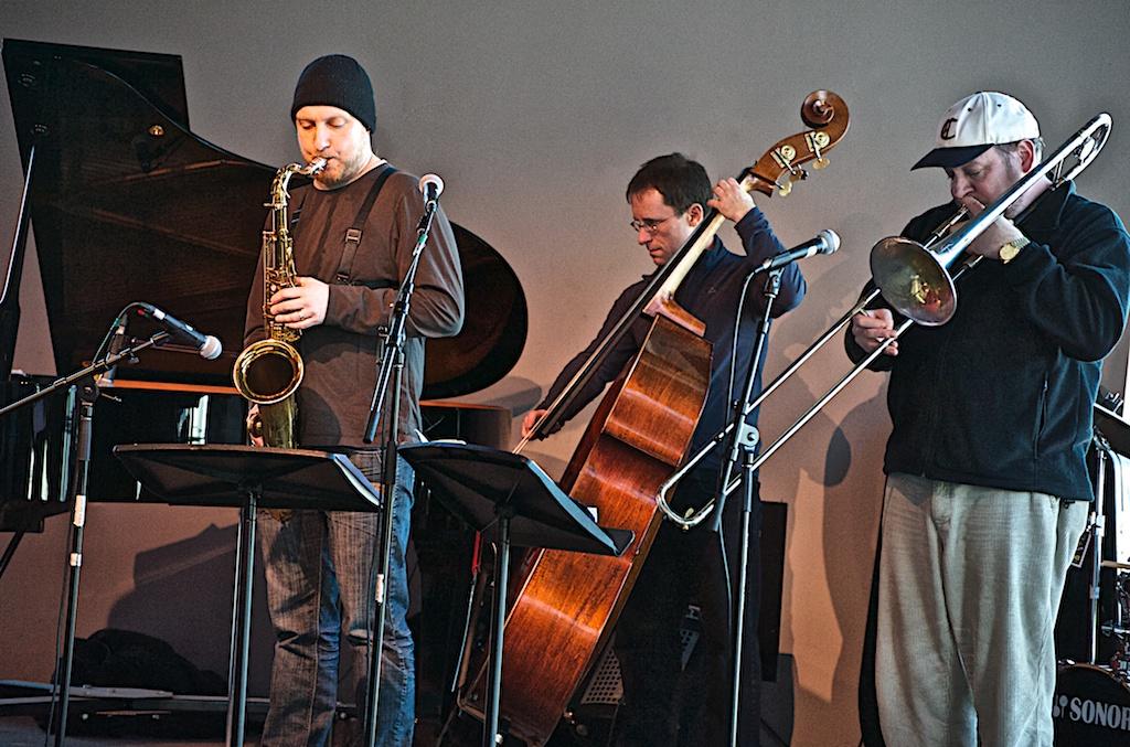 Cory Weeds, Ken Lister & Steve Davis - Cory Weeds Quintet - York University - Toronto