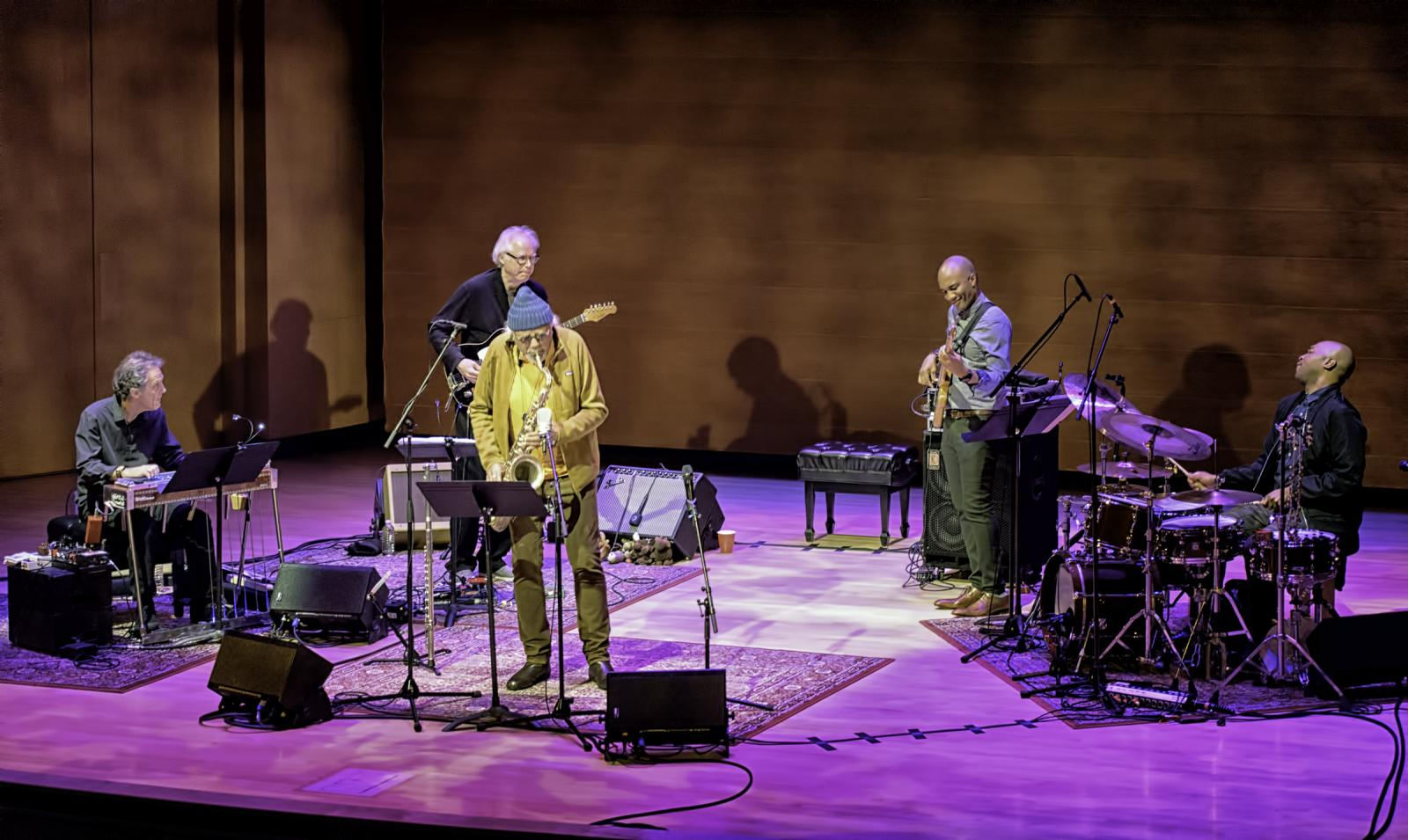 Greg Leisz, Bill Frisell, Charles Lloyd, Reuben Rogers And Eric Harland With Charles Lloyd And The Marvels At The Musical Instrument Museum (mim)