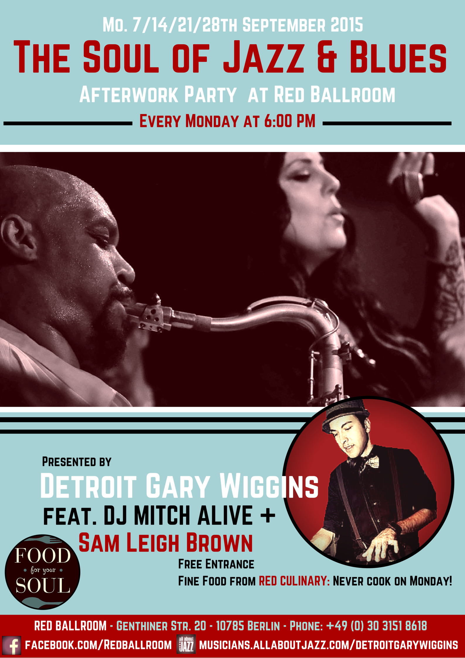 Every Monday: The Soul of Blues & Jazz