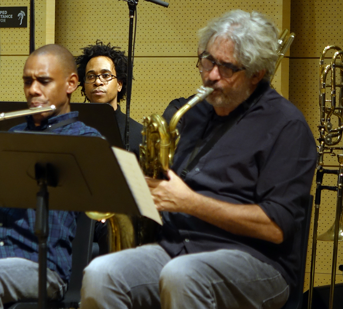 Brian Settles, Jonathan Finlayson, & Tim Berne at NYC Winter JazzFest 2016