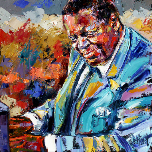 Oscar Peterson at the Piano