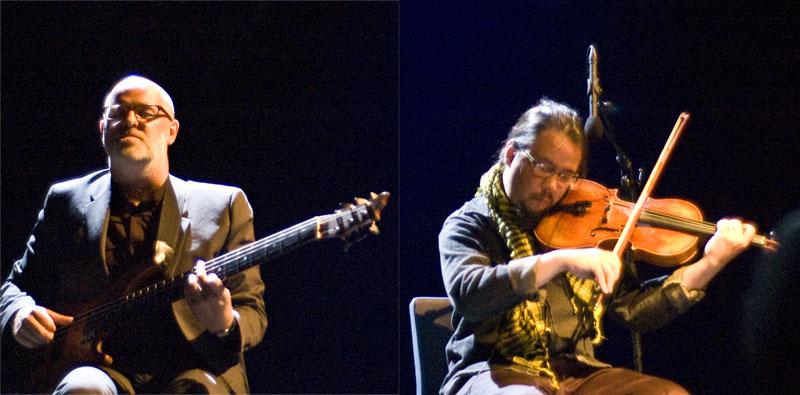Skuli Sverrisson and Eyvind Kang
