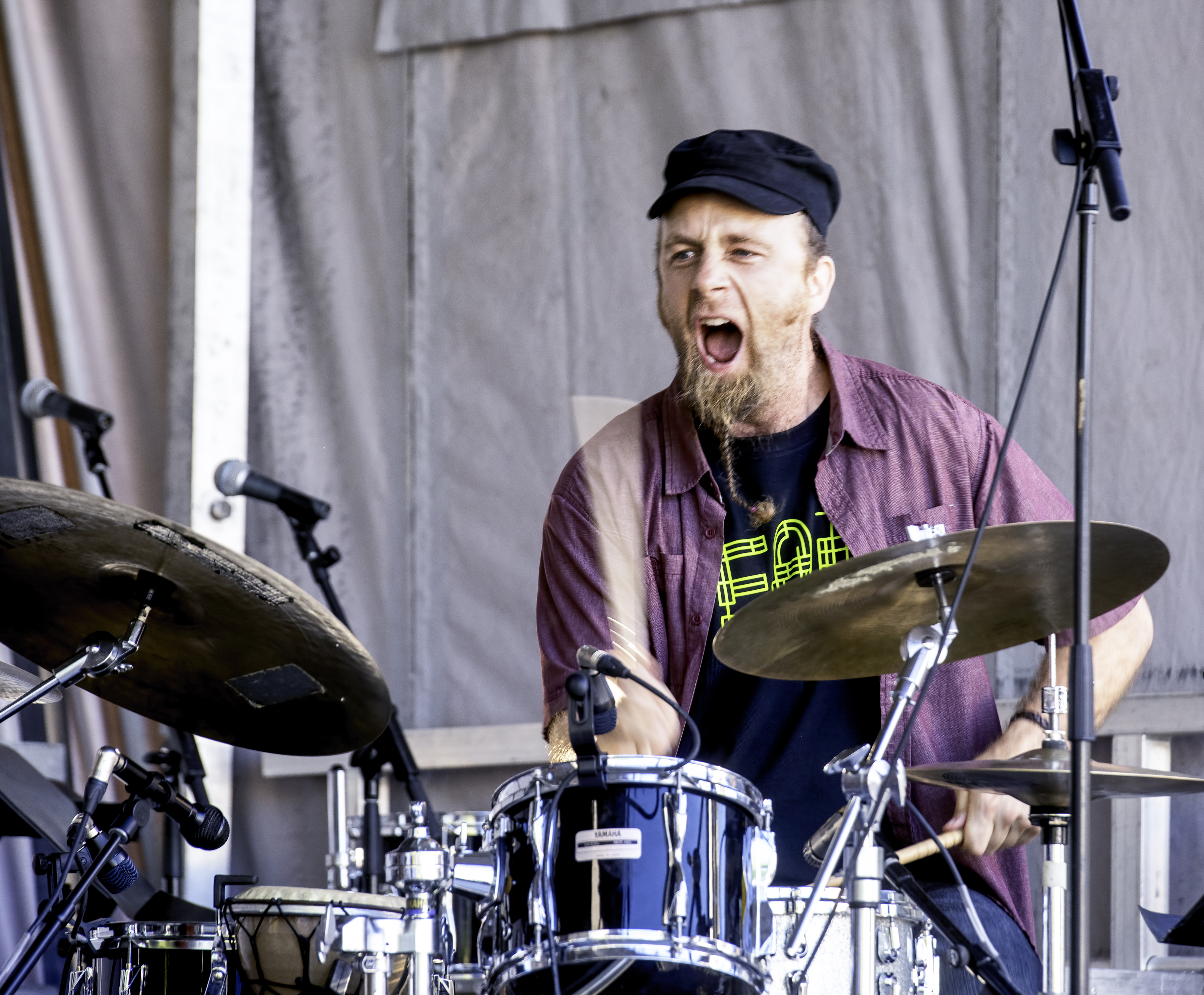 Ivan Bamford with the Eyevin Trio at the Guelph Jazz Festival 2019