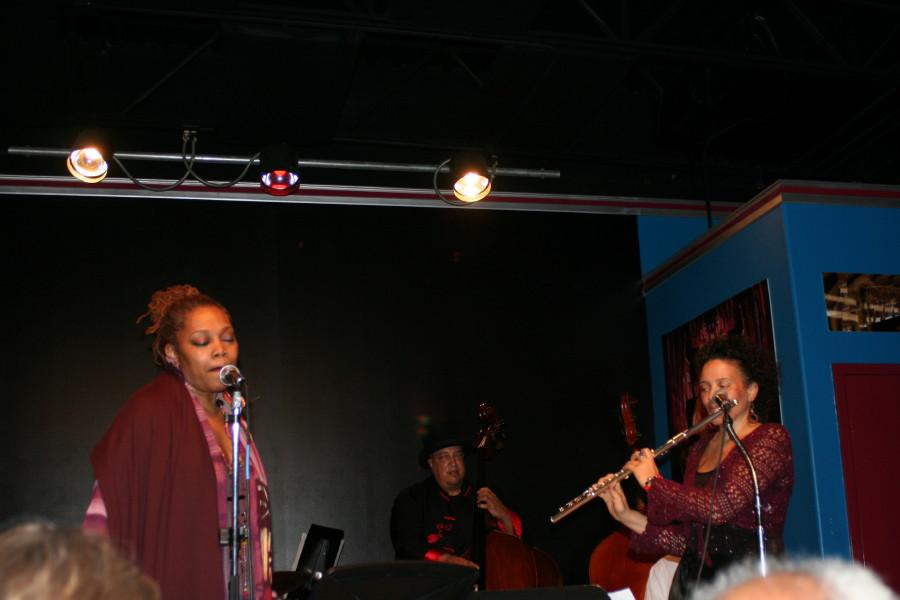 Dee Alexander & Nicole Mitchell Velvet Lounge