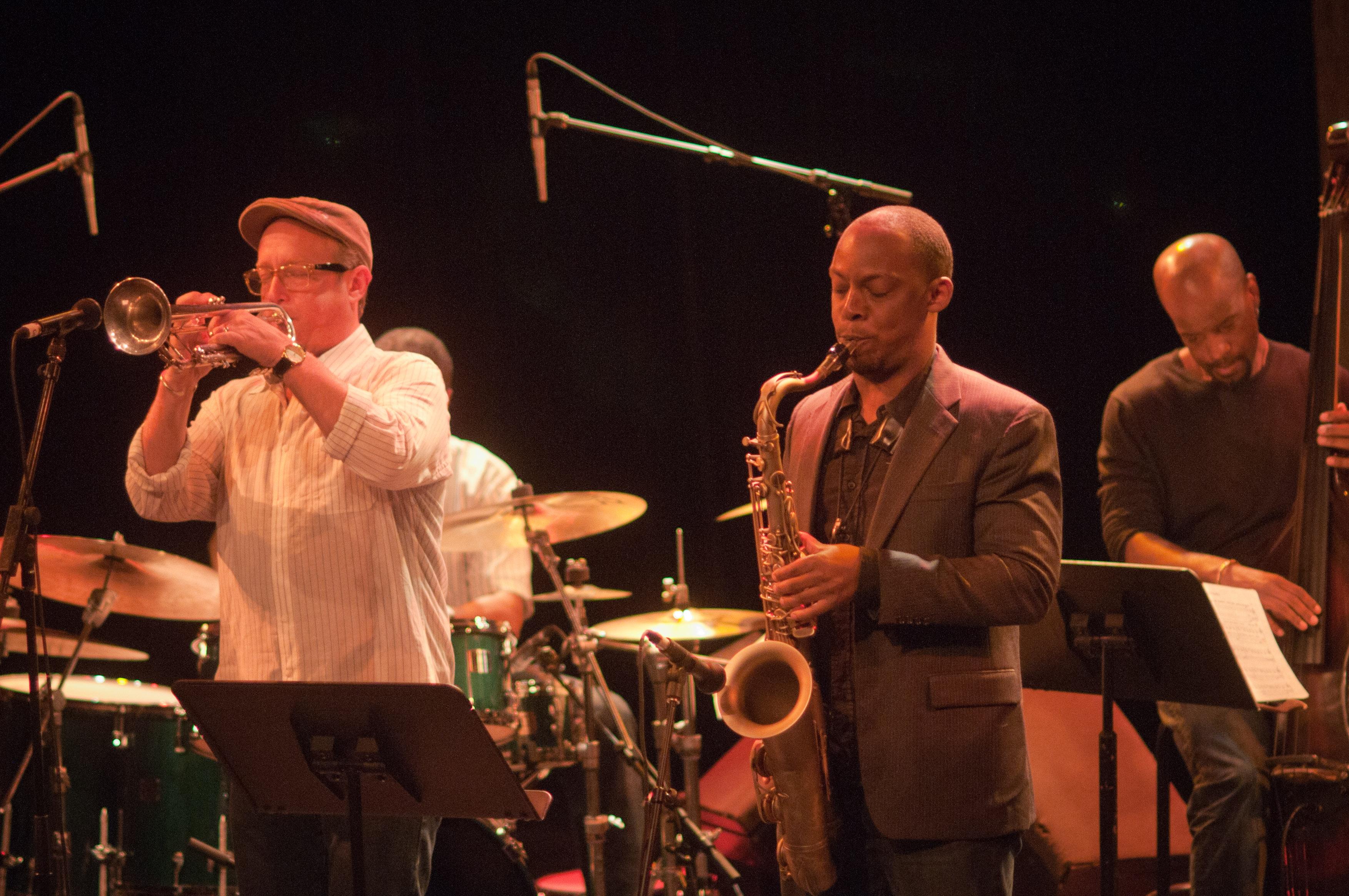 Dave Douglas and Marcus Strickland, Montreal International Jazz Festival, 2010,